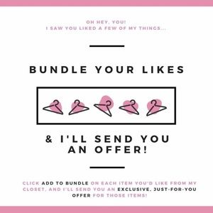 💕BUNDLE YOUR LIKES💕